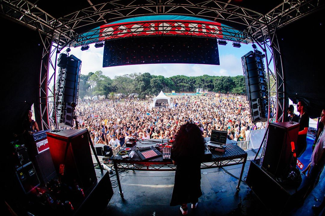 Nicole Moudaber takes control on the Circoloco stage