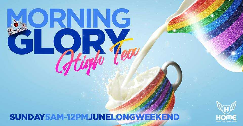 Morning Glory returns for High Tea